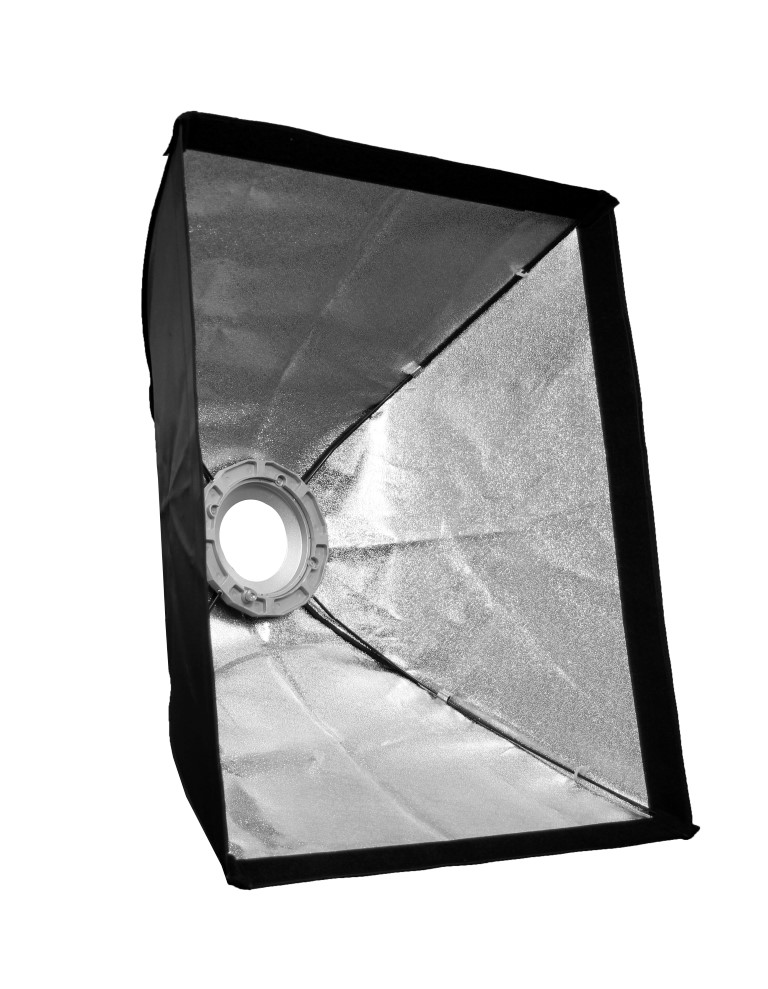 Bowens softbox 60x60cm aluminum gyűrű adapterrel