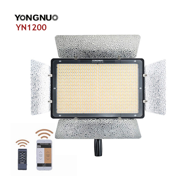 Yongnuo YN-1200 LED Video Light LED panel (3200k-5500k)