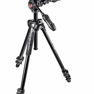 Manfrotto 290 Light kit alu állvány + 3D fej (MK290LTA3-3W)
