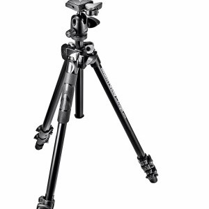 Manfrotto 290 Light kit alu állvány + gömbfej (MK290LTA3-BH)