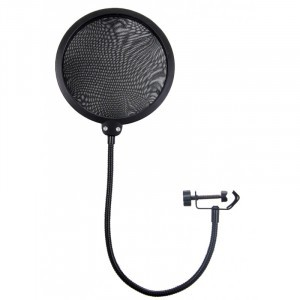 Popfilter, pop filter 35cm karral, univerzális