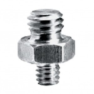 Manfrotto Rövid adapter spigot 3/8+1/4 (147)